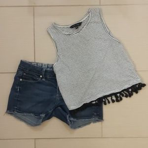 New Look cropped top